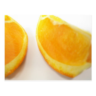 Fotografía de la cocina del naranja dulce postal