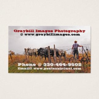 Fotografía de las imágenes de Graybill Tarjeta De Visita