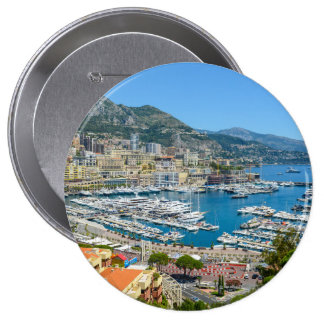 Fotografía de Mónaco Monte Carlo Chapa Redonda De 10 Cm