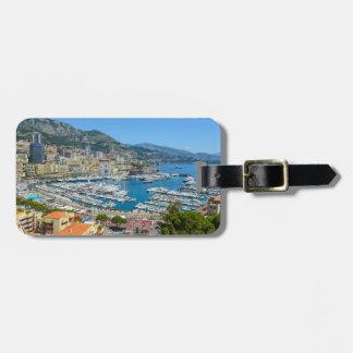 Fotografía de Mónaco Monte Carlo Etiquetas Para Maletas