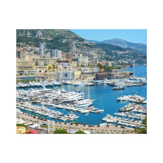Fotografía de Mónaco Monte Carlo Impresión En Lienzo