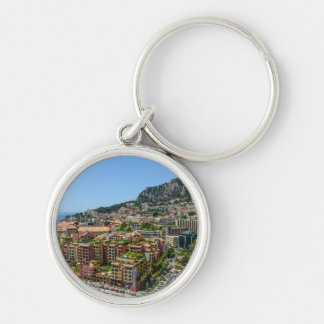 Fotografía de Mónaco Monte Carlo Llavero Redondo Plateado