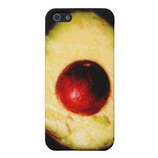 Fotografía del aguacate iPhone 5 fundas