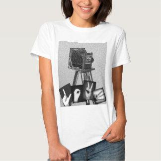 Fotografía del amor camiseta