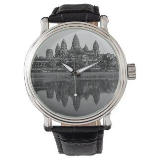 Fotografía del arte de Camboya de las reflexiones Relojes De Pulsera