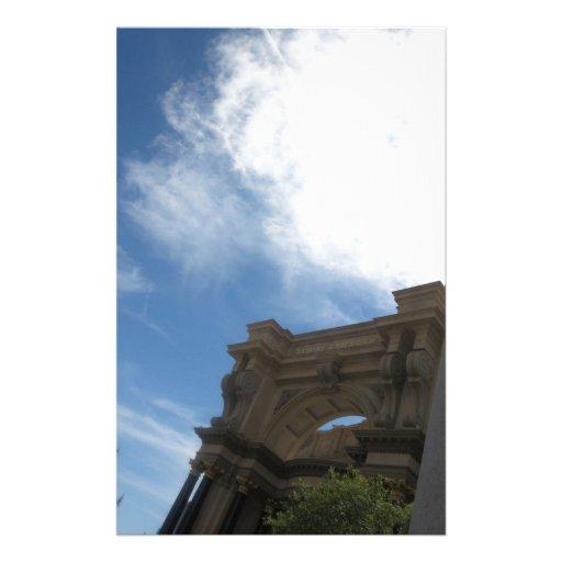 Fotografía del horizonte de LAS VEGAS - casinos, c Papelería Personalizada