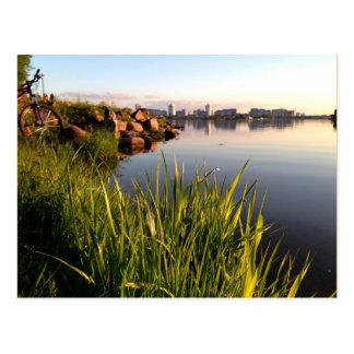 Fotografía del paisaje de Bielorrusia Postal