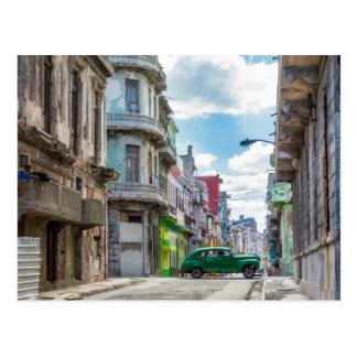 Fotografía del viaje de Cuba del coche de la calle Postal