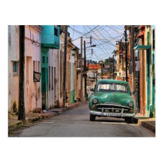 Fotografía del viaje de Cuba del coche del Postal