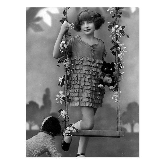 """Fotografía del vintage del """"niño bonito"""" postal"""