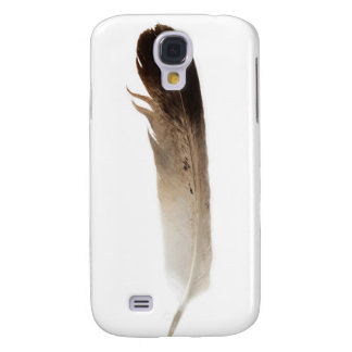 Fotografía elegante rústica tribal de la pluma de  funda samsung s4