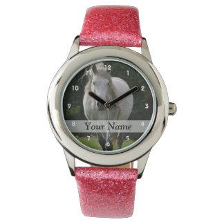 Fotografía linda del potro relojes