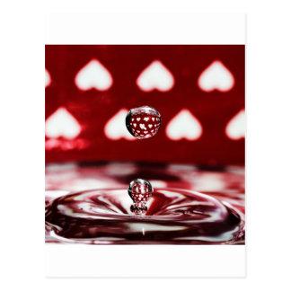 Fotografía líquida - tónico del amor postales