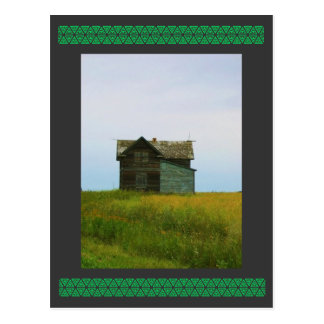 Fotografía vieja de Saskatchewan de la granja Postal