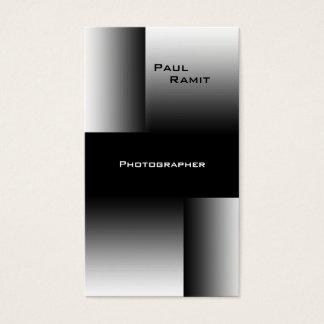 Fotógrafo blanco negro de BW 7 de la tarjeta de