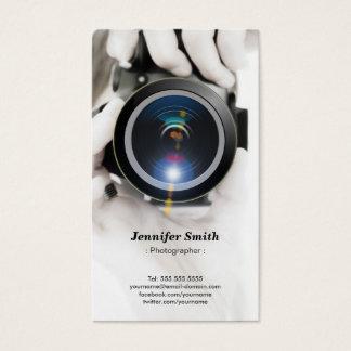 Fotógrafo - muestre su mejor foto en la parte tarjeta de negocios