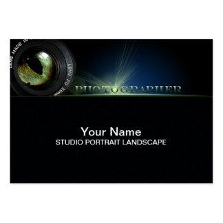 Fotógrafo - negocio, tarjeta del horario plantillas de tarjetas de visita