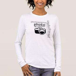 Fotógrafo v.2 camiseta de manga larga