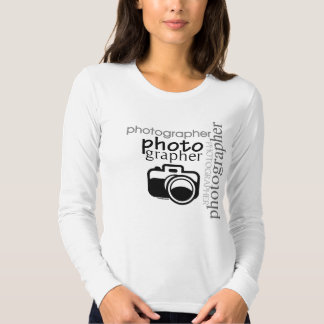 Fotógrafo v.2 camisetas