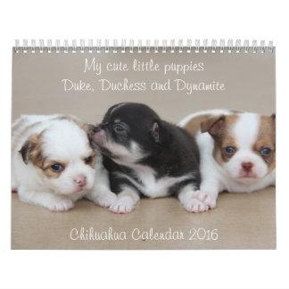 Fotos adaptables del calendario 2016 de la