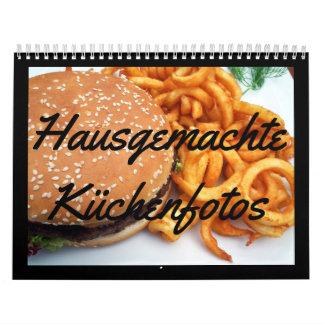 Fotos caseras de cocina calendario