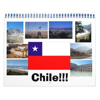 Fotos de Chile Calendario
