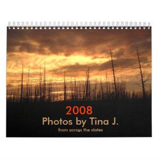 Fotos de enfrente de los estados calendario