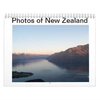 Fotos de Nueva Zelanda Calendarios De Pared