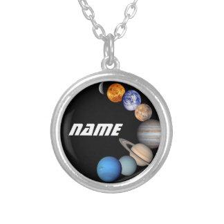 Fotos del montaje JPL de la Sistema Solar - nombre Collar Plateado