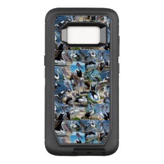 Fotos del pelícano, caso de la galaxia S8 de Funda Otterbox Defender Para Samsung Galaxy S8