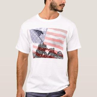 Fotos e interpretaciones de las tropas de los camiseta