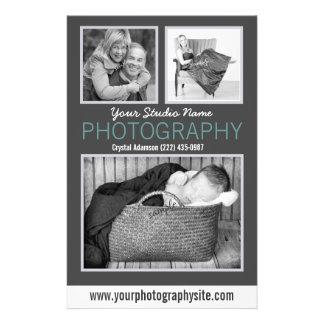Fotos grandes de la muestra del folleto del negoci tarjetas publicitarias
