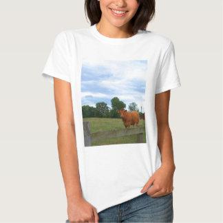 Fotos inglesas del campo camiseta