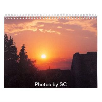 Fotos por el SC Calendarios De Pared