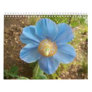 Fotos tomadas en el jardín del gallo calendarios de pared