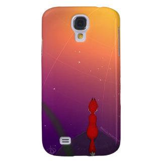 Fox cerca del iPhone del espacio o de la caja del Funda Para Samsung Galaxy S4