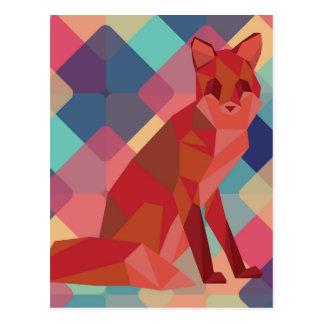 Fox de Origami Postal