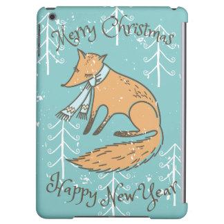 Fox del día de fiesta de las Felices Navidad