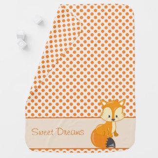 Fox el   del bebé de los animales el   del mantita para bebé