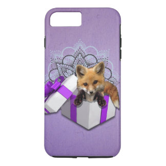 Fox en una caja funda iPhone 7 plus
