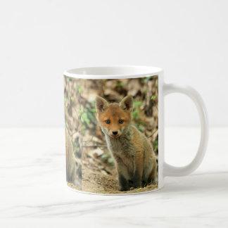 fox la taza, taza de café del zorro, regalo del