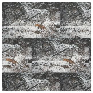 fox la tela, tela del arbolado, acolchando los