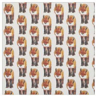 fox la tela, tela del arbolado, cosiendo, arte