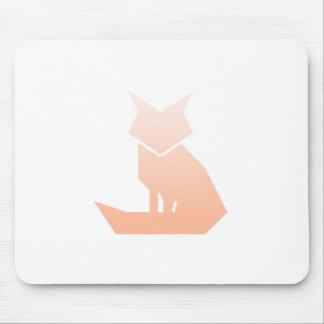 Fox minimalista Mousepad de la pendiente del Alfombrilla De Ratón