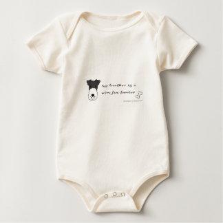 fox terrier del alambre body para bebé