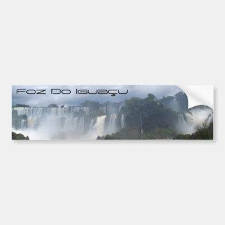 Foz do Iguaçu Pegatina Para Coche