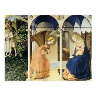 Fra Angelico el anuncio Postal
