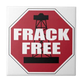Frack libera los E.E.U.U. Azulejo Cuadrado Pequeño