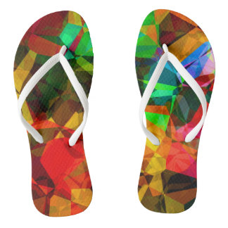 Fractal abstracto chanclas