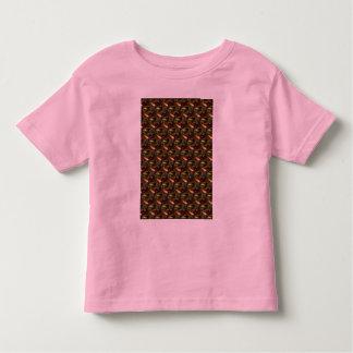 Fractal abstracto de cristal de Brown Camiseta